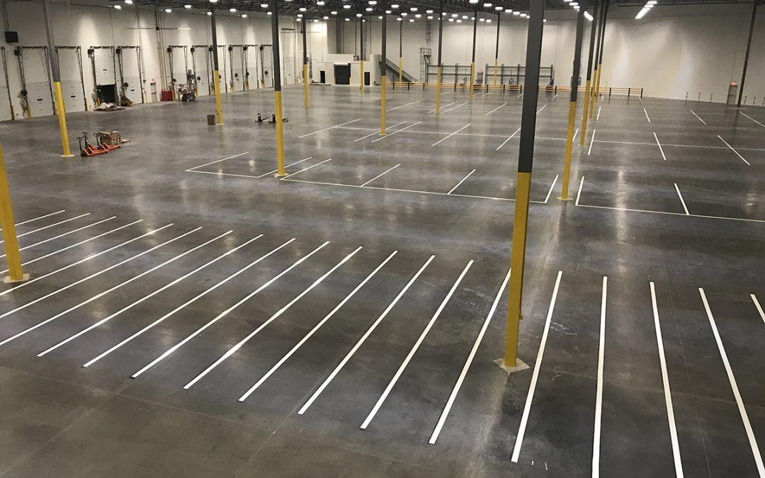 Warehouse Marking Project – Tucson, AZ