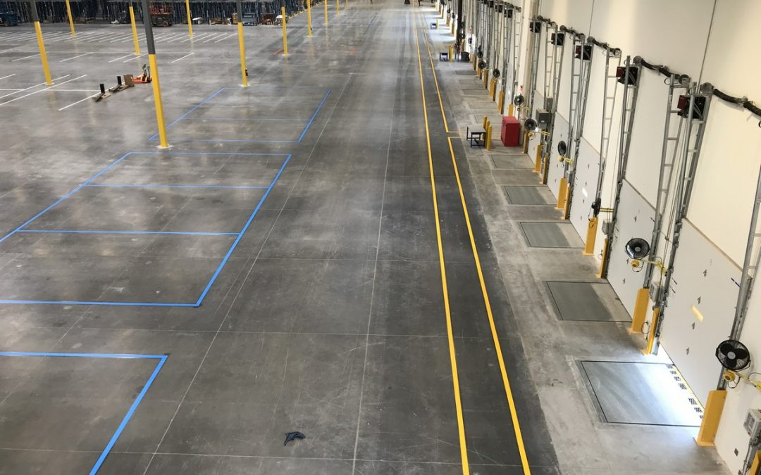 Warehouse Floor Striping in the Bay Area